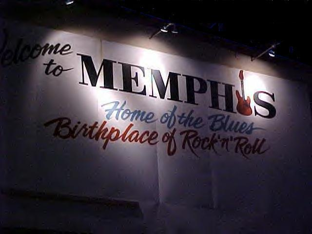 Bobby invites you to visit Memphis on the web