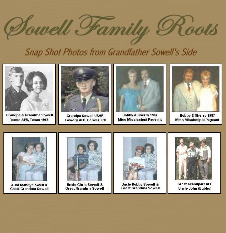 Your Sowell Side Family Roots