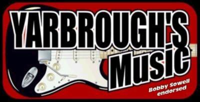 Bobby invites you to visit Yarbrough's Music on the web